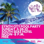 synth city flyer