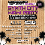 Miami UMF Week Synth City Party